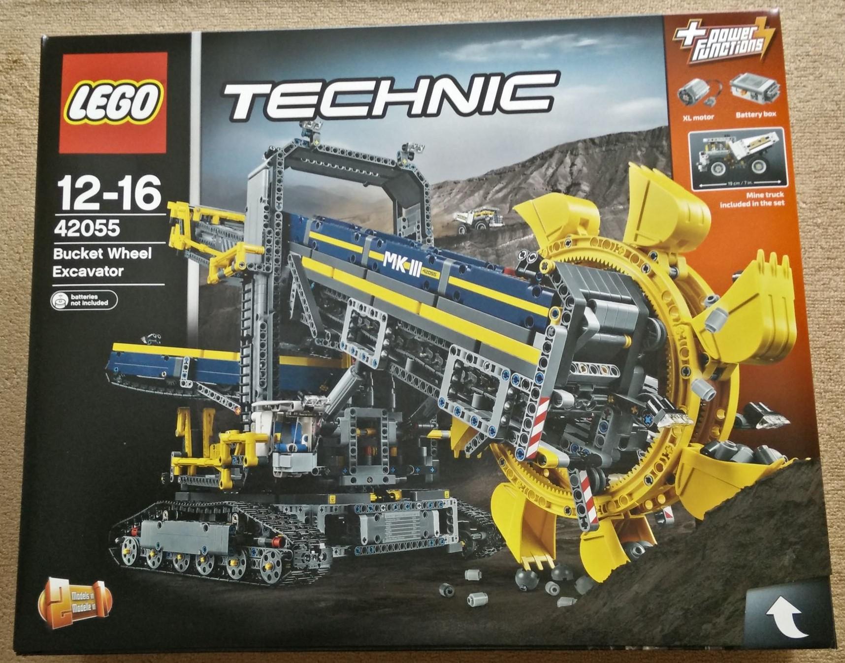レゴ(LEGO)テクニック史上最大 「バケット掘削機(42055)」のレビュー