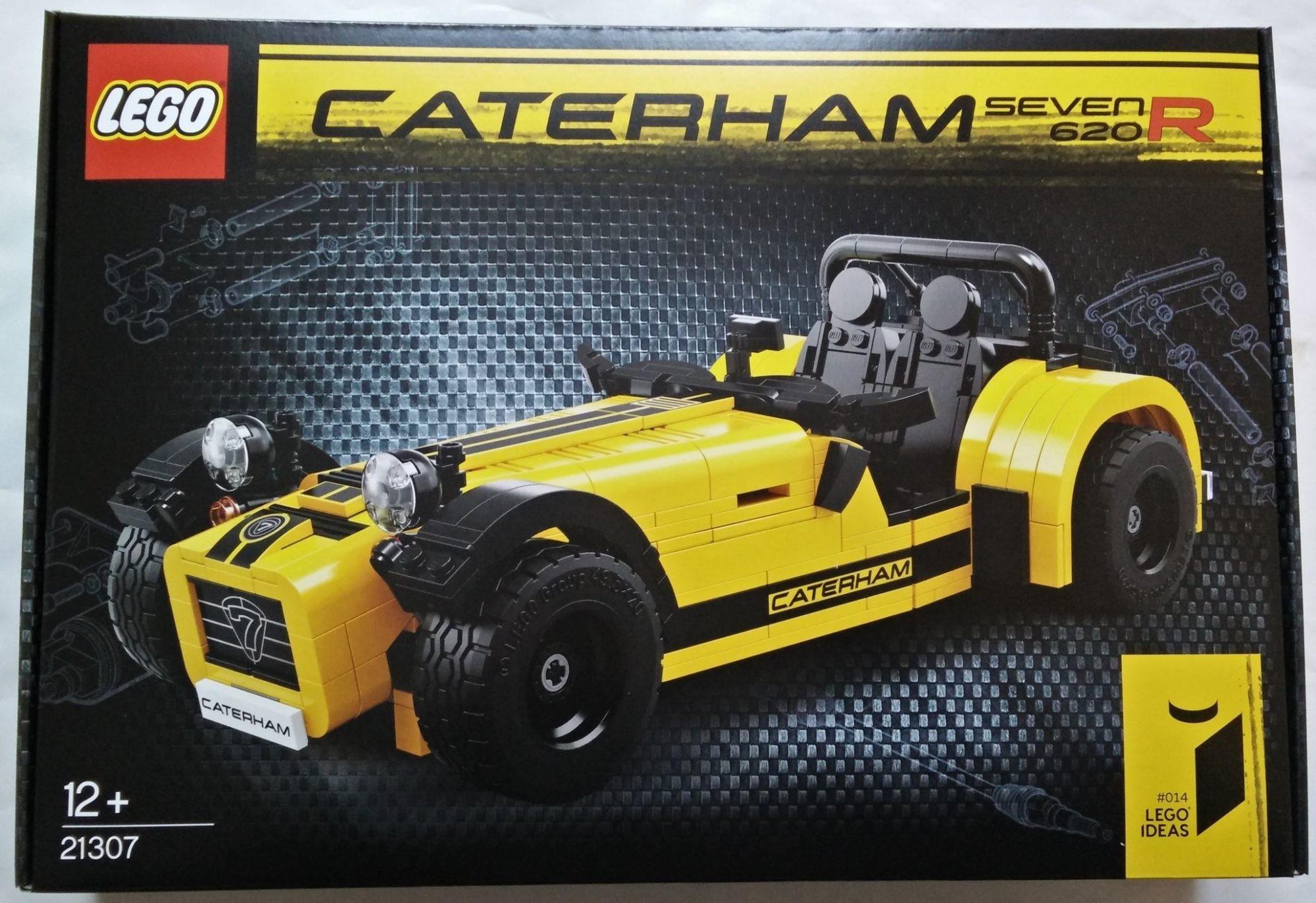 レゴ(LEGO) アイデア 「ケータハム セブン 620R(21307)」レビュー