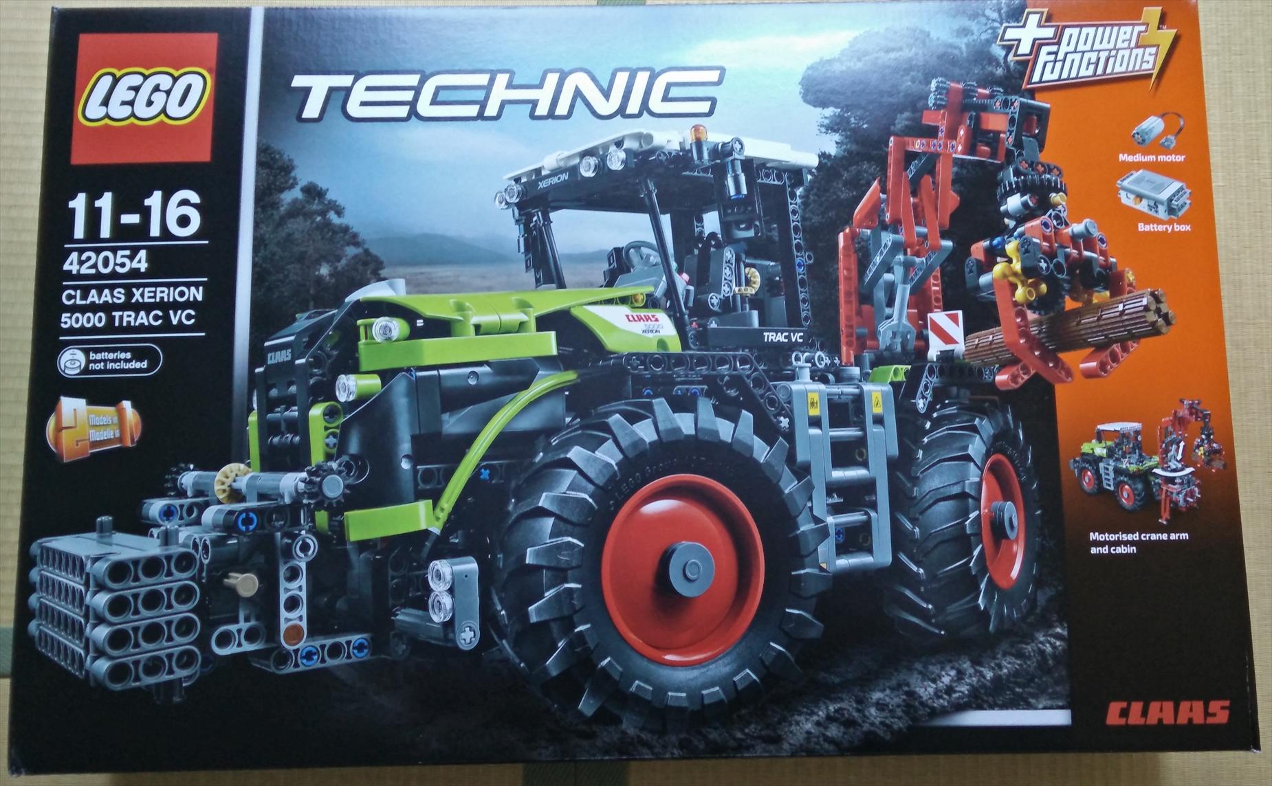 レゴ (LEGO)テクニック 「CLAAS XERION 5000 TRAC VC (42054)」のレビュー