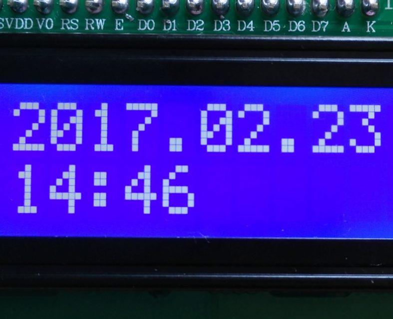 1602 I2C Serial LCD Moduleをラズベリーパイ3(Raspberry Pi 3)で使う