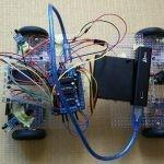 Arduino Uno互換機で斜めに移動できる4WD車を作った。