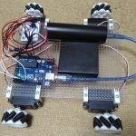 Arduino Uno互換機でメカナムホイールのラジコンカーを作った