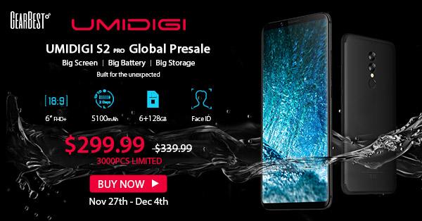 【GearBest(ギアベスト)セール情報】UMIDIGI S2 Pro (スマホ)