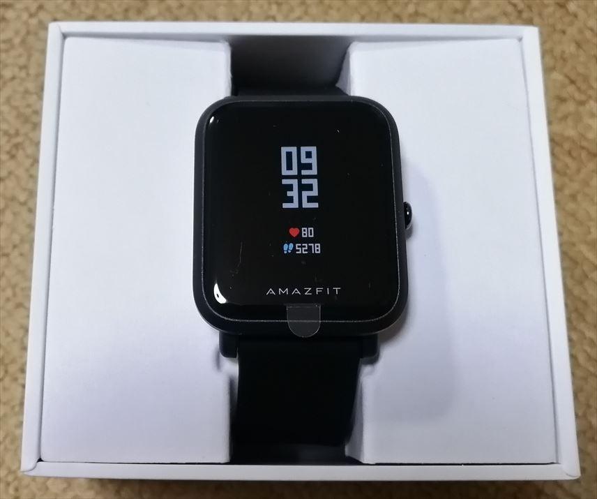 「Amazfit Bip」の英語化とウォッチフェイスの変更について(「Notify & Fitness for Amazfit」使用)