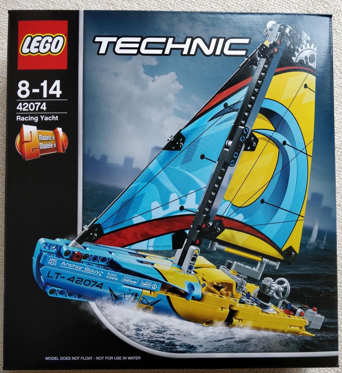レゴ (LEGO)テクニック 「 レーシングヨット(42074)」のレビュー