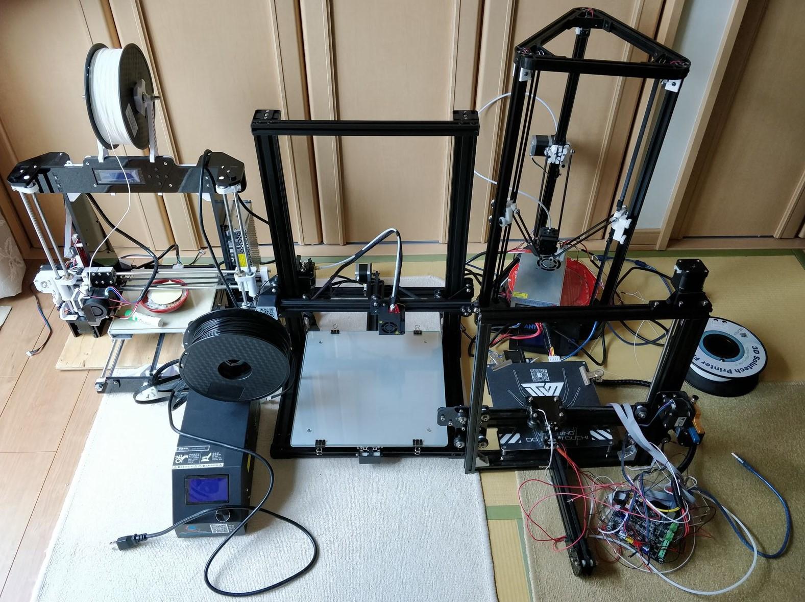 5万円で買える3Dプリンター「Creality 3D CR-10S」のレビュー(内容物確認・組み立て編)