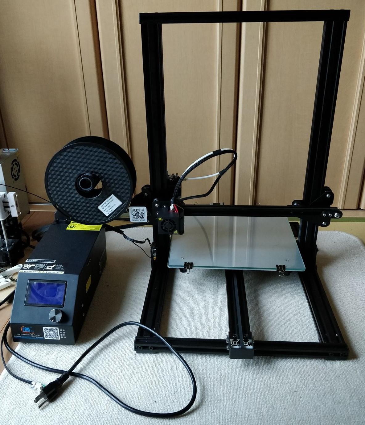 5万円で買える3Dプリンター「Creality 3D CR-10S」のレビュー(テストプリント編)