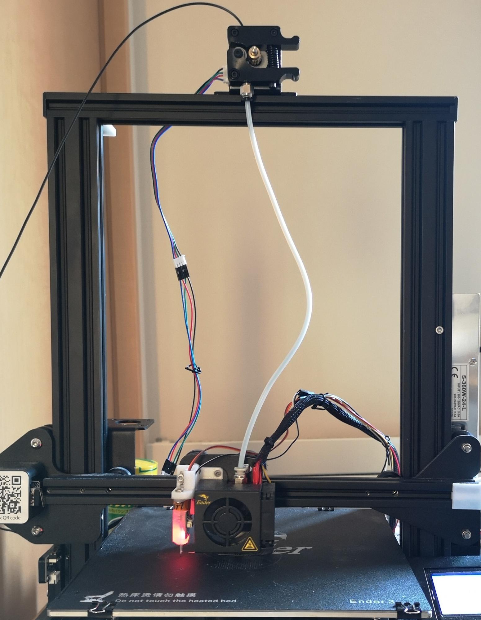 【3Dプリンター】Ender-3のマザーボードとモータードライバを取り替えて静音化した(TMC2208)