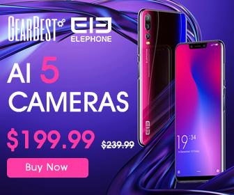 【GearBest】「Elephone A5」(スマホ)セール情報