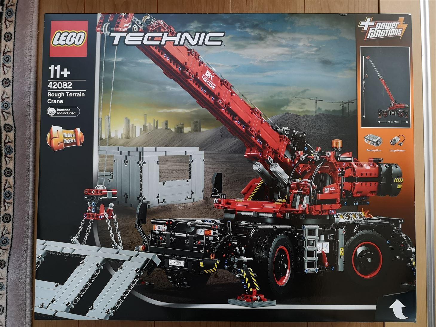 4000ピースを超える大型モデル  レゴ(LEGO)テクニック「全地形対応型クレーン (42082)」レビュー