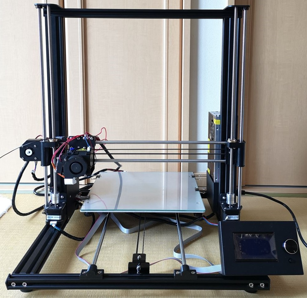 2万円台から買える大型3Dプリンター「Anet A8 PLUS」レビュー(動作編)