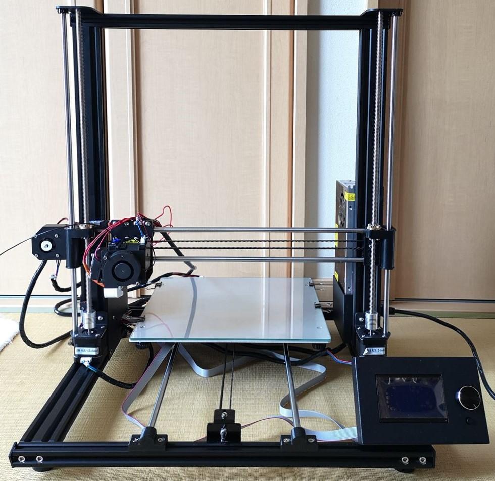 2万円台から買える大型3Dプリンター「Anet A8 PLUS」レビュー(内容確認編)